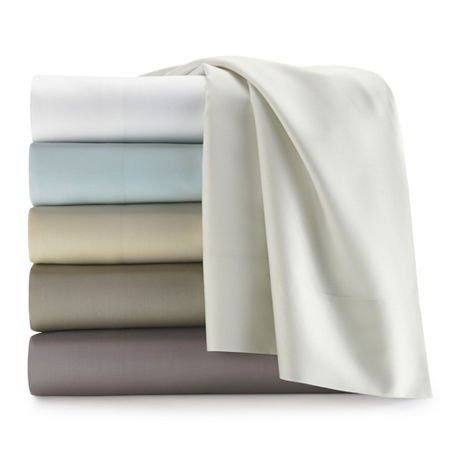 Liz Claiborne 300tc Liquid Cotton Sheet Set   Stop Waking Up Sweaty. These  Cooling Sheets Will Keep You Cool And Dry Until Morning.