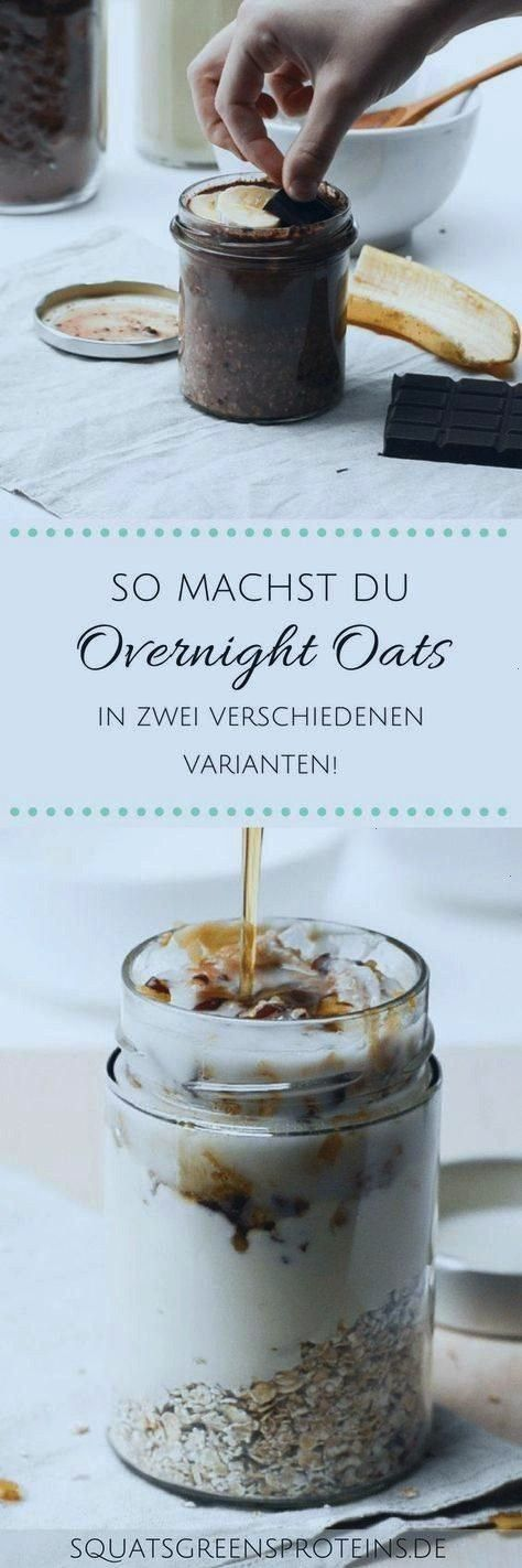 Recipes for Overnight Oats   Healthy Breakfast To Go   Squats, Greens & Proteins by MelanieTwo Reci