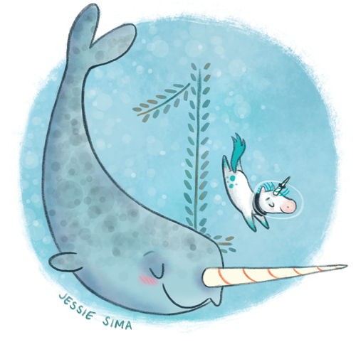 Only one more day until the Not Quite Narwhal Cover Reveal on Wed ...