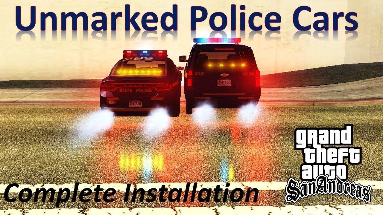 Emergency Lights Mod Unmarked Police Cars Gta San Andreas Pc Emergenc San Andreas Police Cars Gta
