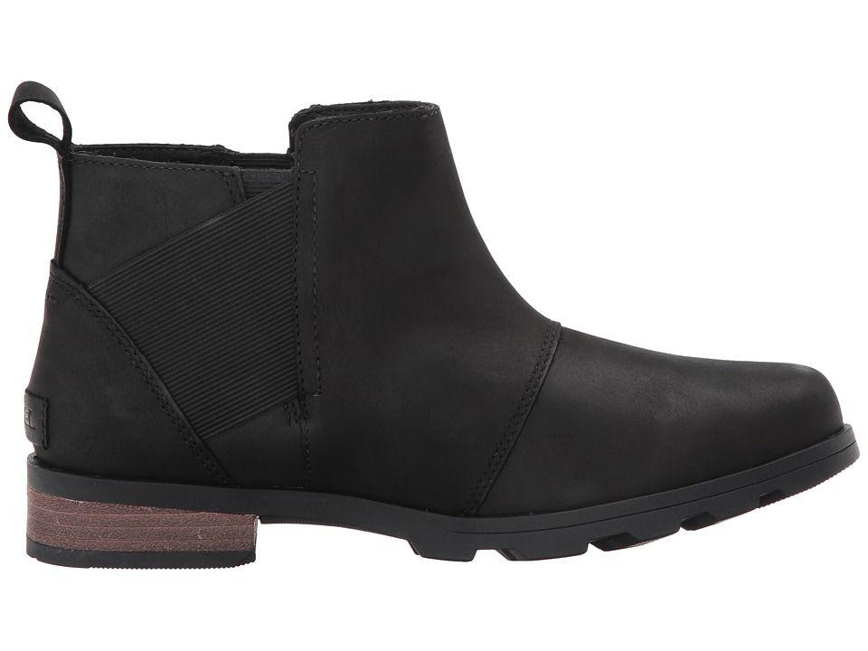 Sorel Emelie Chelsea Women S Waterproof Boots Black
