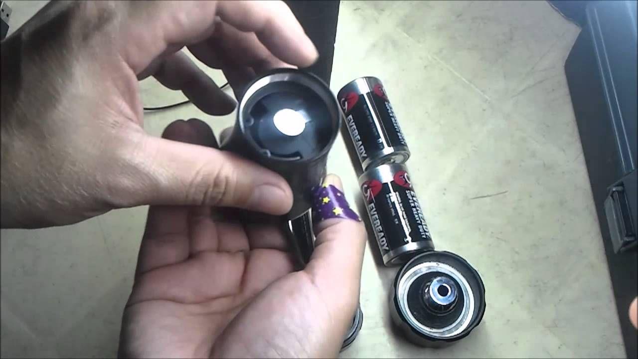Diy how to make a lightsaber hilt from a flashlight make