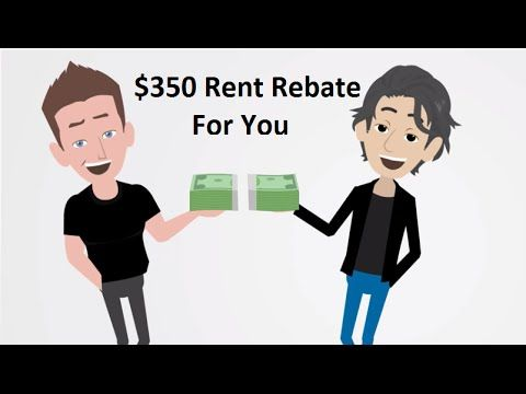 Rent Rebate - Rent an Apartment and Get Paid! Call Alexander at - rent rebate form