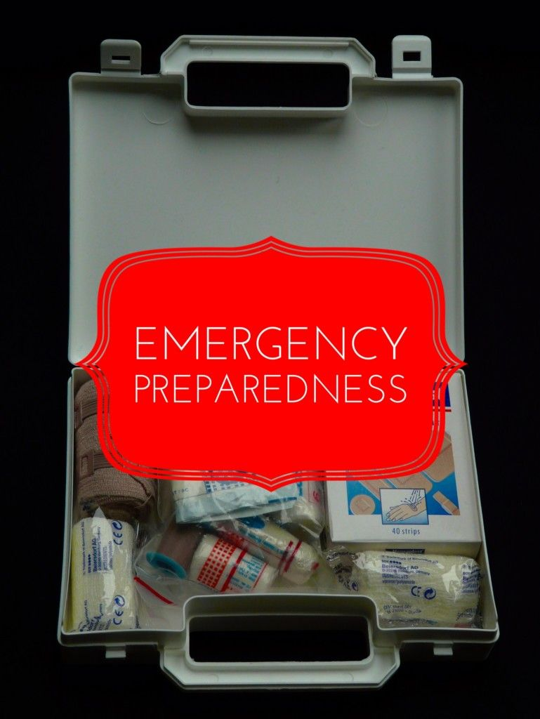 Emergency preparedness emergency preparedness