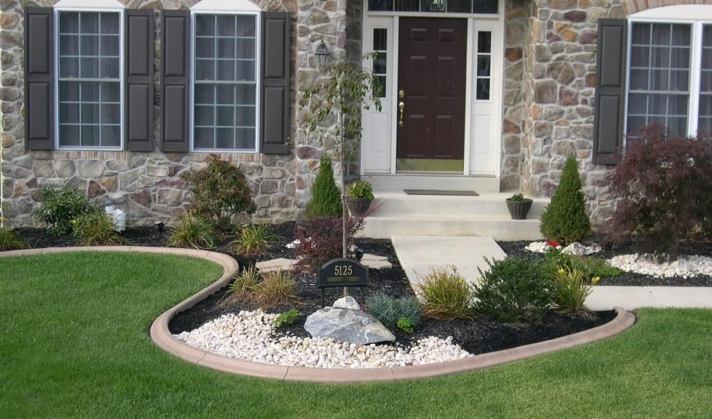 Creative with Concrete! Curb YOUR Nature Yard ideas