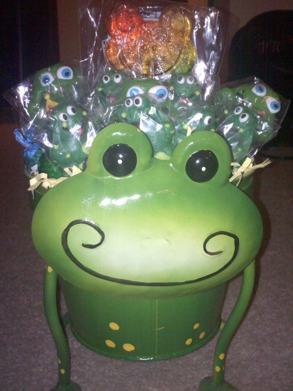 Frog Lollipop Bouquet by connieworm on Etsy, $30.00 ...