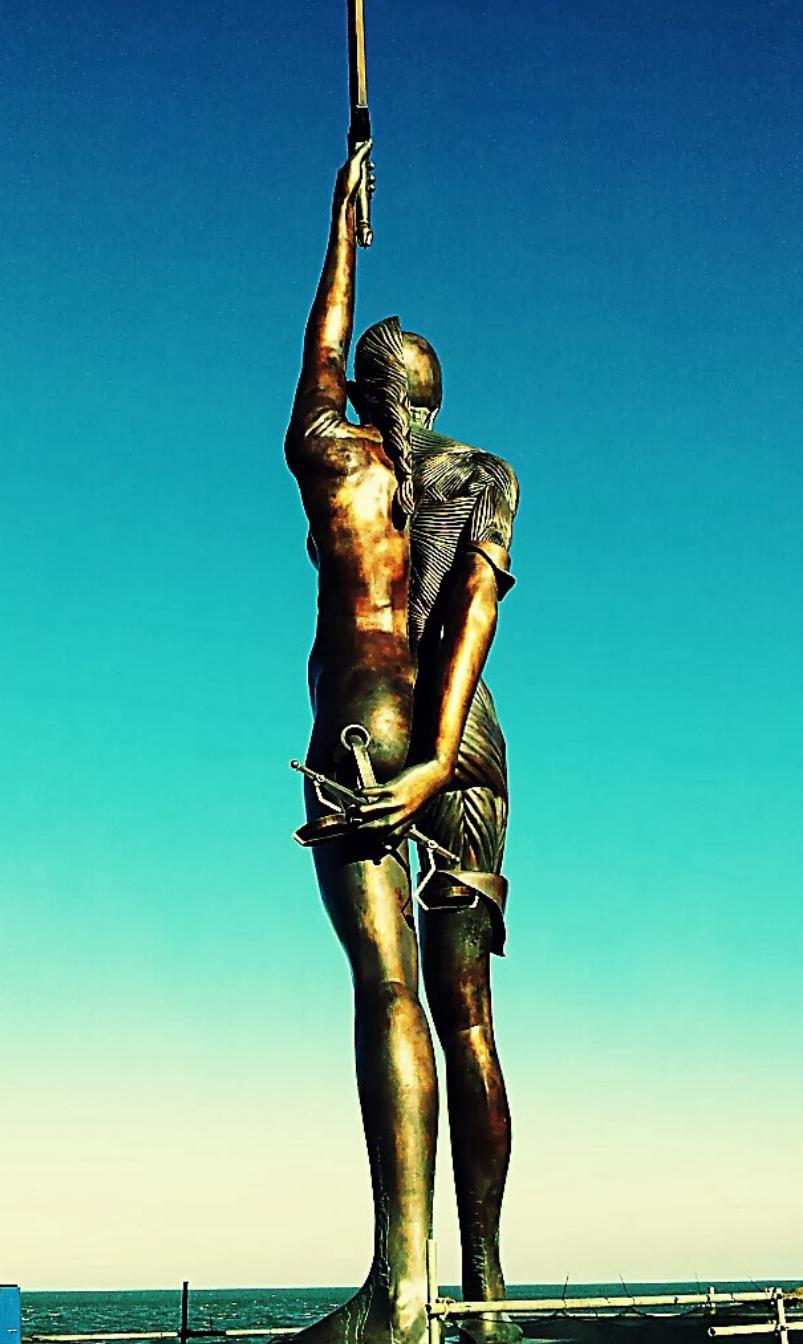 Verity statue | Statue, Sculpture art, Art