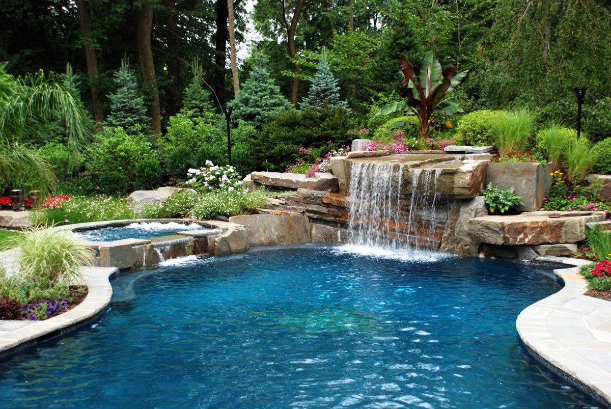 Luxury Swimming Pools With Waterfalls related image | small pool ideas | pinterest | luxury swimming