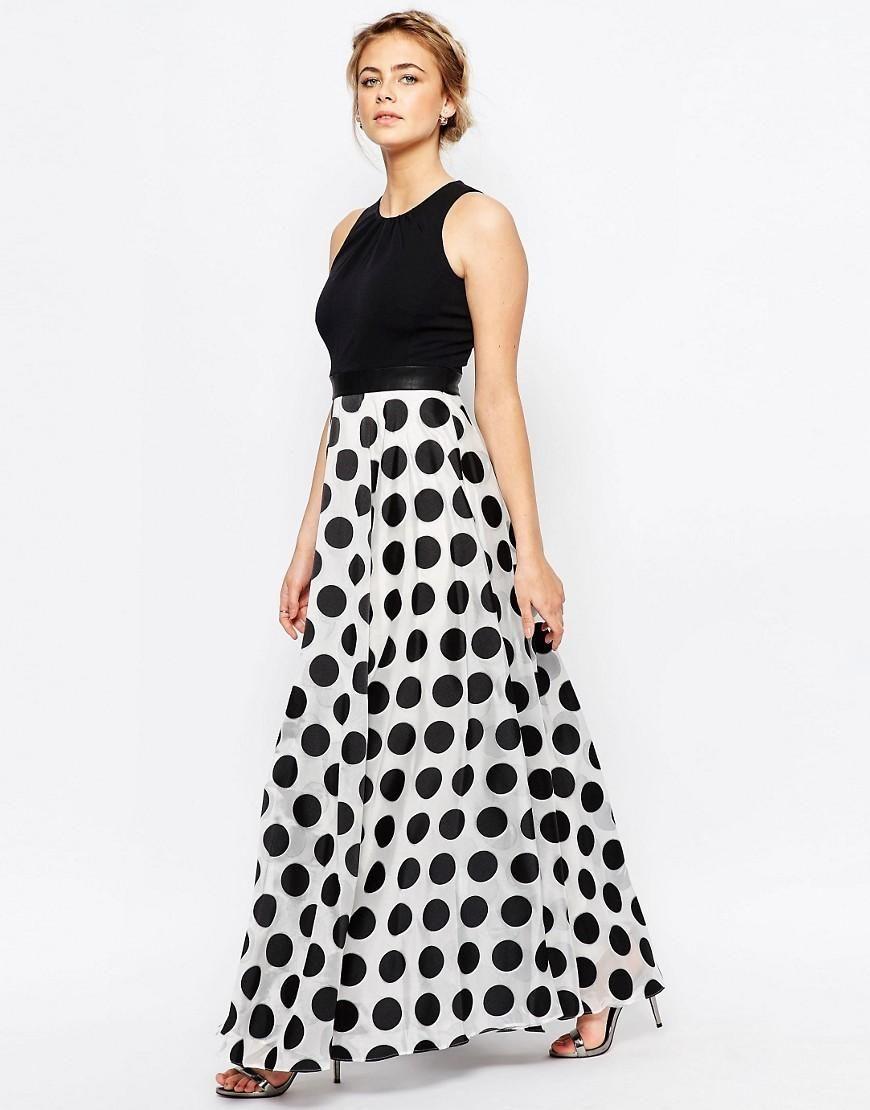 Coast   Coast Polka Dot Maxi Dress at ASOS   Wedding invites ...