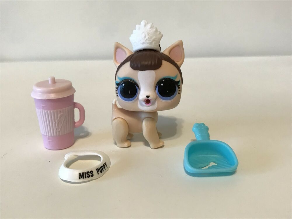 2 Lot LOL Surprise Pets Doll Animals Series 3 Sugar Pup /& Baby Dog Puppy Dog Toy