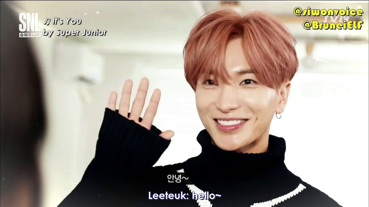 ENGSUB] 171111 tvN SNL9 with Super Junior - 3 minute