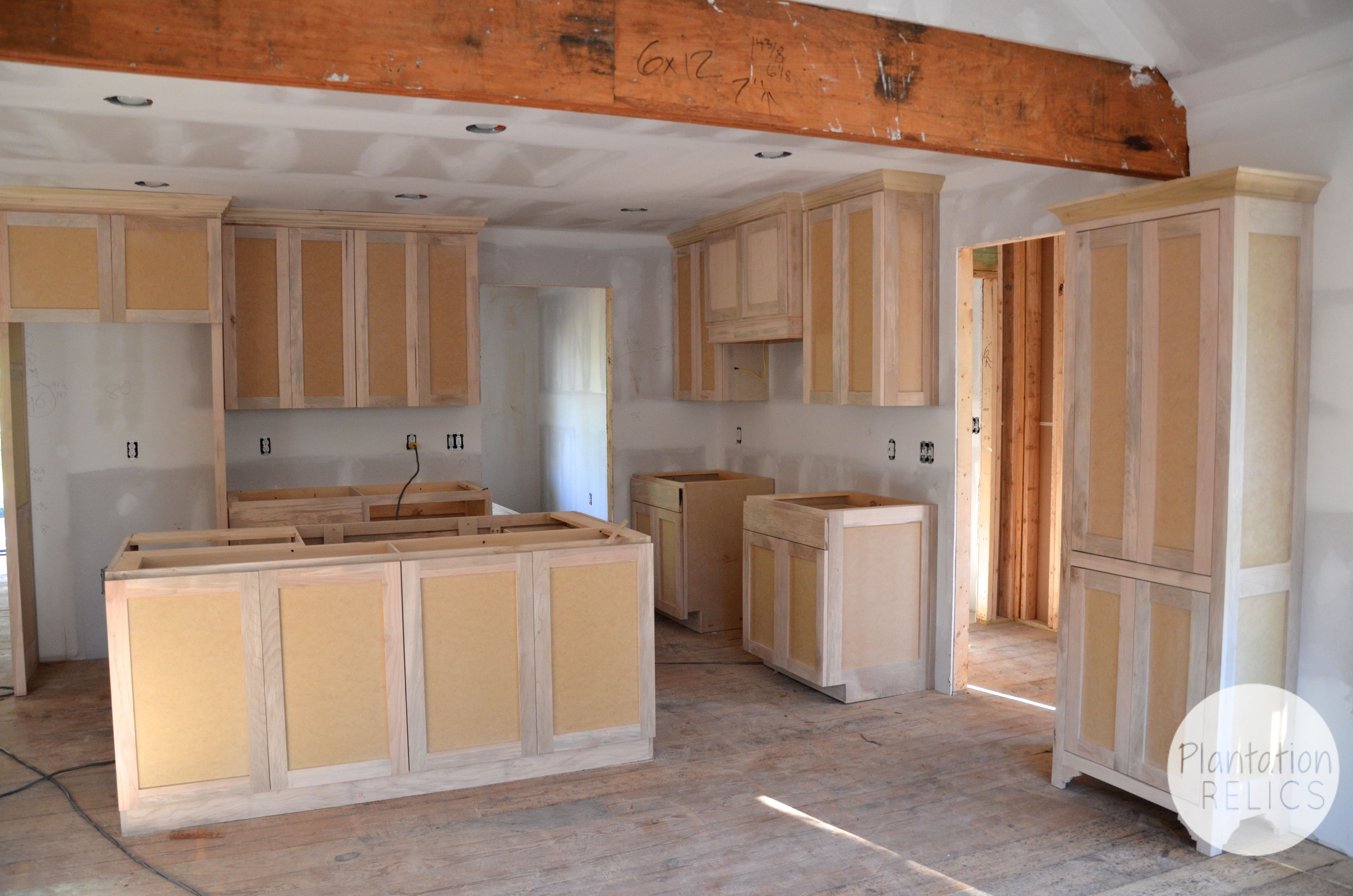 New Kitchen Cabinets Installed In The Flip House & New Kitchen Cabinets Installed In The Flip House | I Wish ...