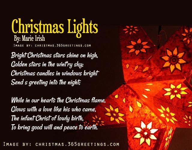 Short Christmas Poems | Poem, Cards and Merry christmas poems