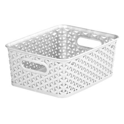 Room Essentials™ Y Weave Small Storage Basket   Set Of 4 $23.99 Target  Plastic