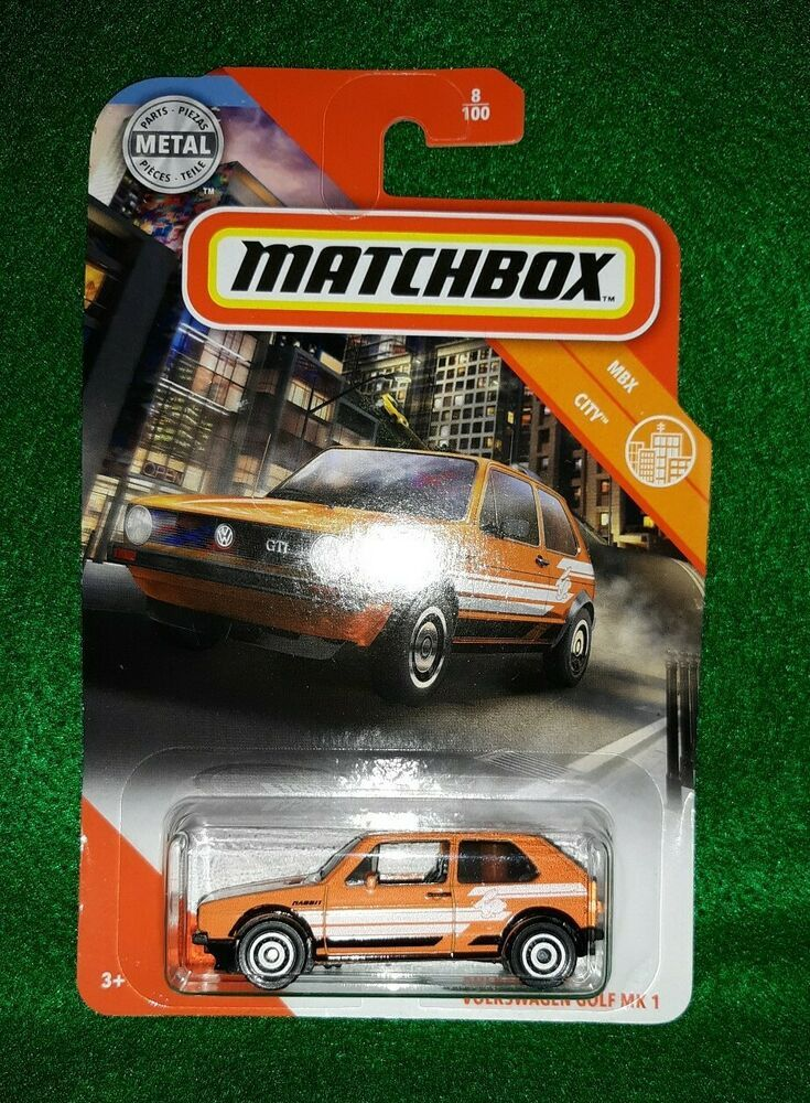 Matchbox NEW 2020 Volkswagen Golf GTI MK 1 Rabbit Orange