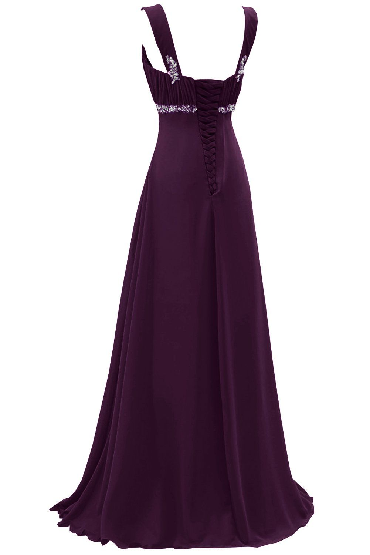 Sunvary 2015 Bridesmaid Dress Evening Dress for Wedding Long Chiffon US Size 18W- Silver