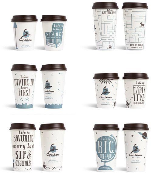 resultado de imagen de coffee cup design size - Cup Design Ideas