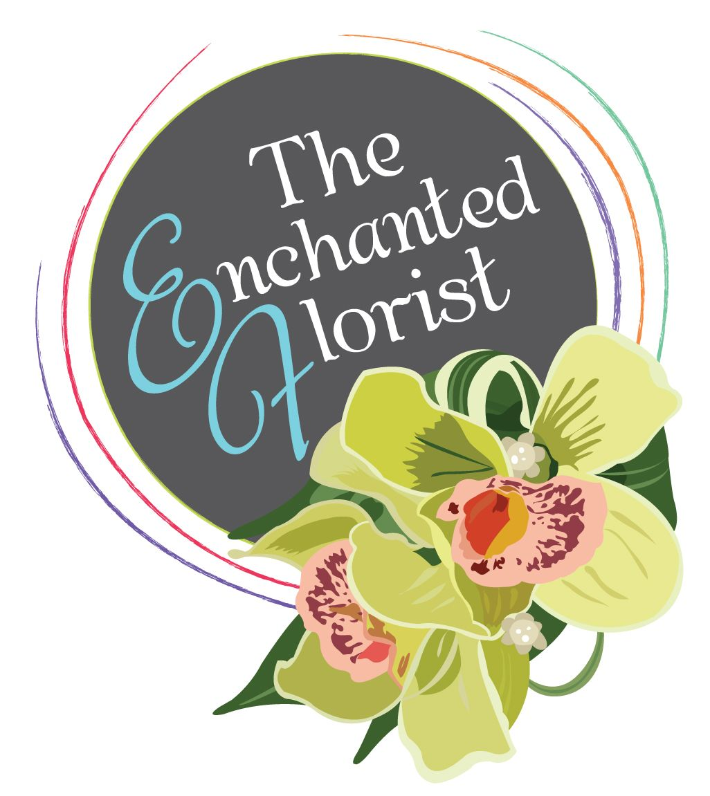 A logo design created for an amazing local florist, we used a dark grey tone and bright colours to lift the orchid illustration. We design logos like this, for as little as £150.00 fixed fee!