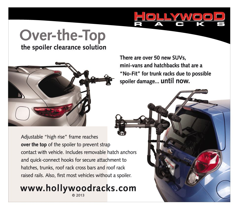 Hollywood Racks Over The Top Bicycle Rack Coming Soon Mini