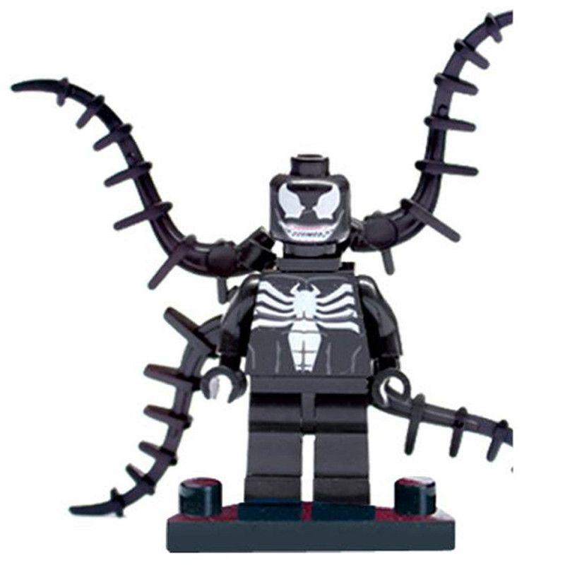 Lecgo18pcs/lot Super heroes DC Marvel Winter soldier/Odin/Batman/Venom/Cyclops Avengers figures Building Blocks Legoe Compatible