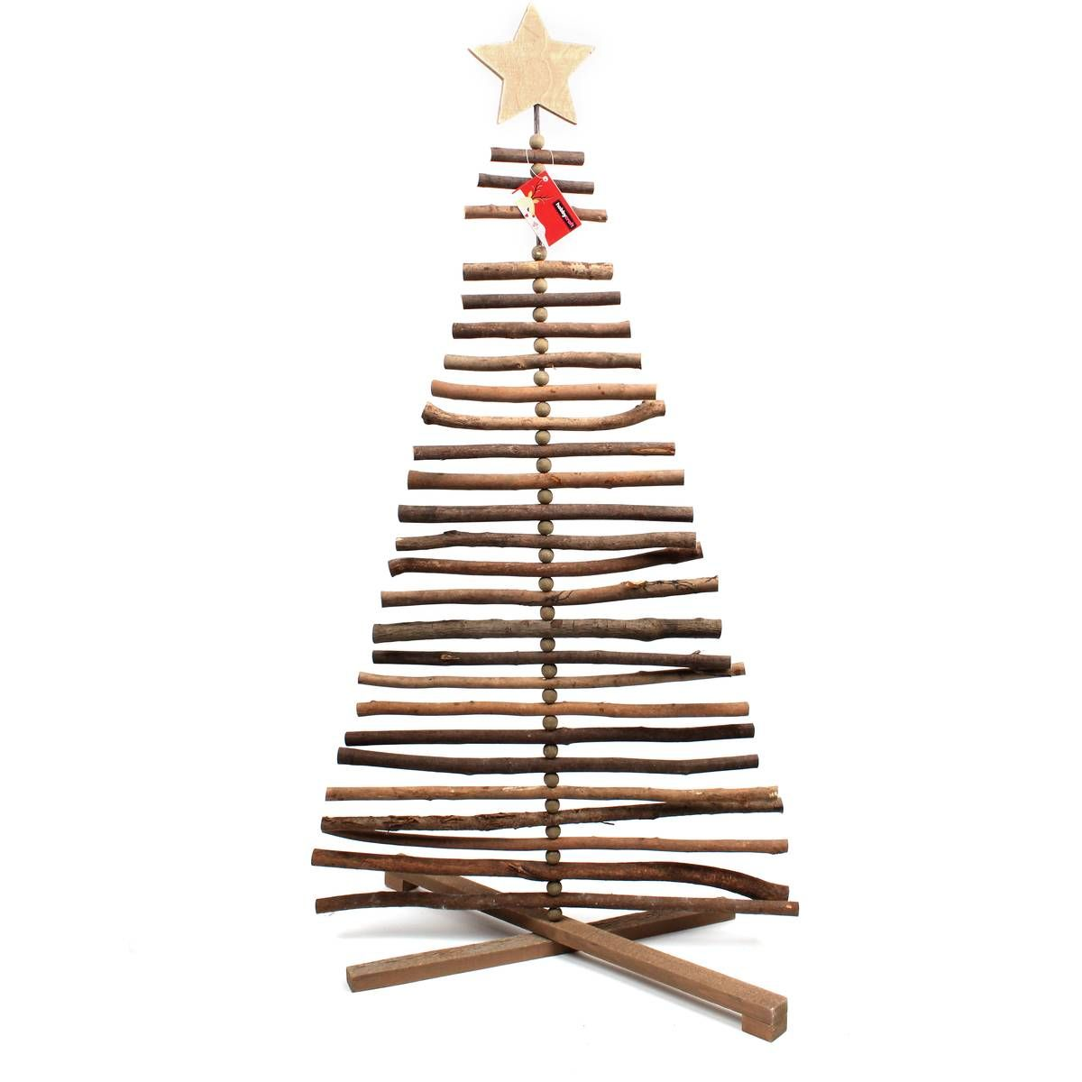 3d Wooden Christmas Tree 90cm Hobbycraft With Images Wooden Christmas Trees Decorating With Christmas Lights Twig Christmas Tree