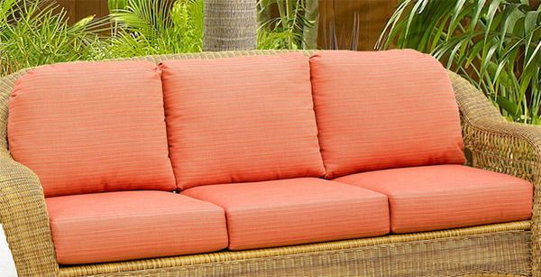 Northcape International Wicker Deep Seating Sofa Replacement
