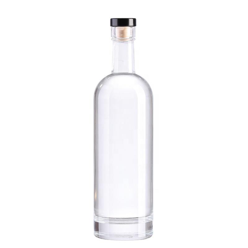 Slim 750ml Vodka Glass Bottle Wine Bottle Glass Glass Bottles Wholesale Bottle