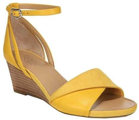 7f86c36183 Franco Sarto Women's Deirdra Ankle Strap Wedge Sandal | My shoes in ...