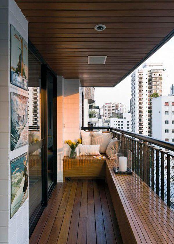 Terrasse en longueur  nos idées du0027aménagement Balconies, Verandas - idee plan maison en longueur