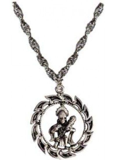 Silver round hanumanji chain pendant hanuman pendant designs silver round hanumanji chain pendant hanuman pendant designshanuman locket in pure goldgold mozeypictures Gallery