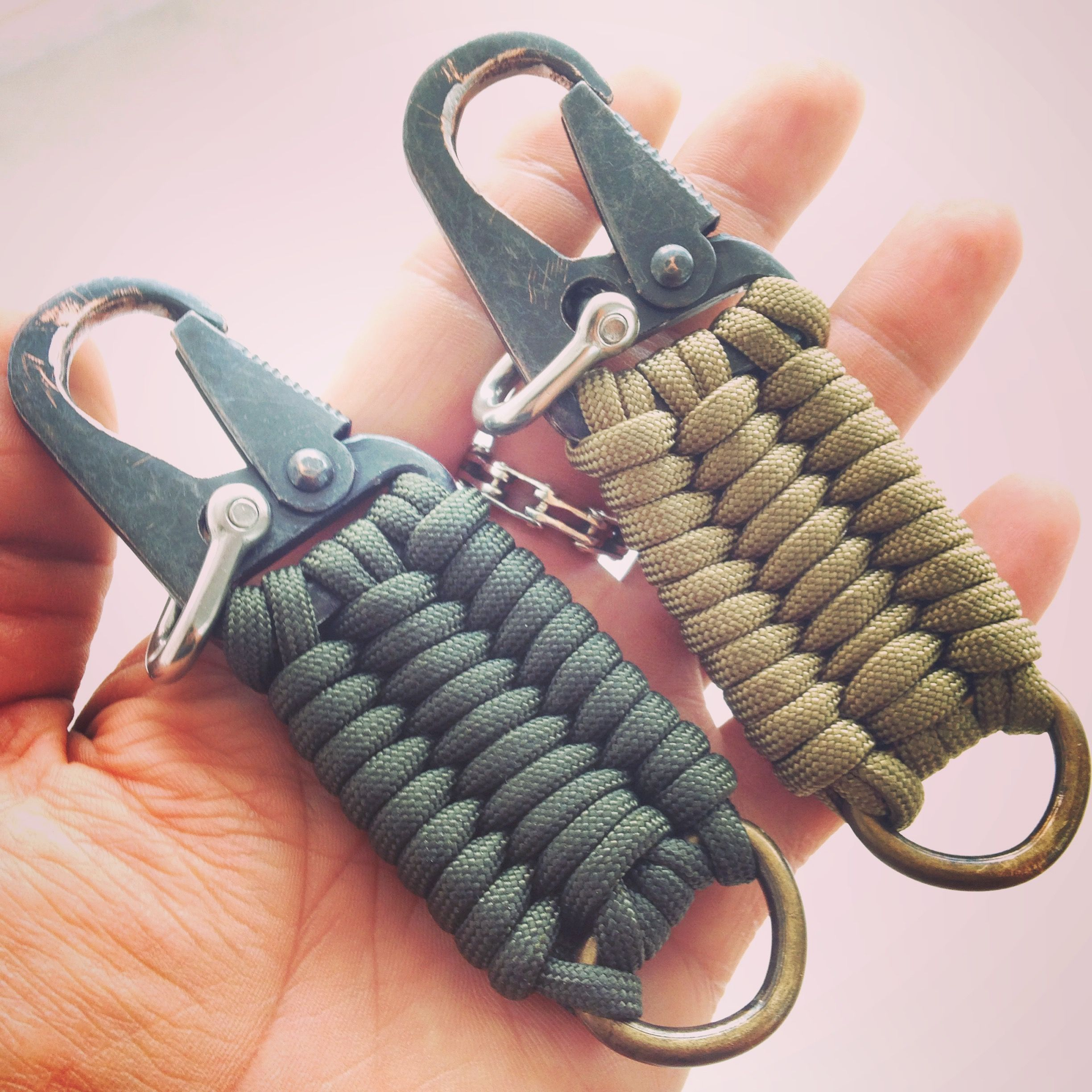 Anyone Know Where To Find Clips Like These Paracord Projects