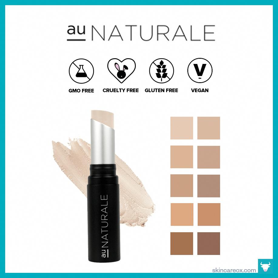 Au Naturale – Completely Covered Crème Concealer ($26) #bestorganicmakeup