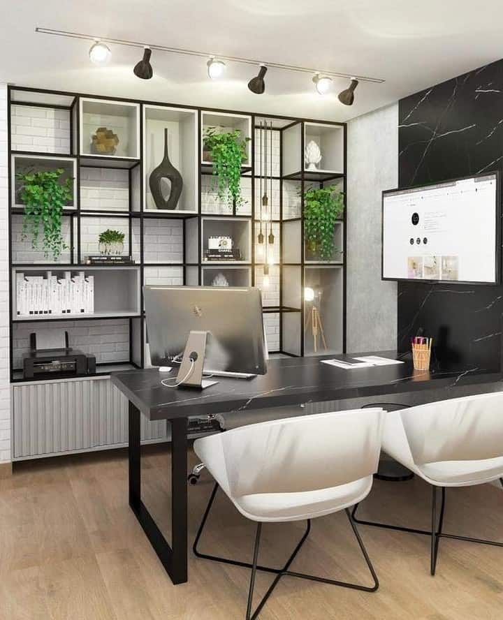 Best Colors And Styles of Home Office 2020 (Images and ...