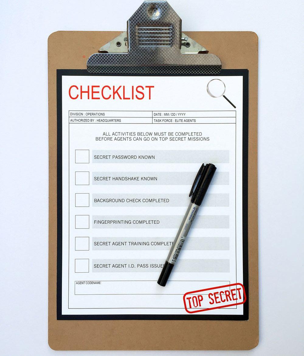 Doc490693 Editable Checklist Template checklist template 66 – Editable Checklist Template