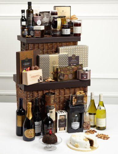 Luxurious Christmas Hamper M S Christmas Hamper Hamper Gift Basket Christmas Scents