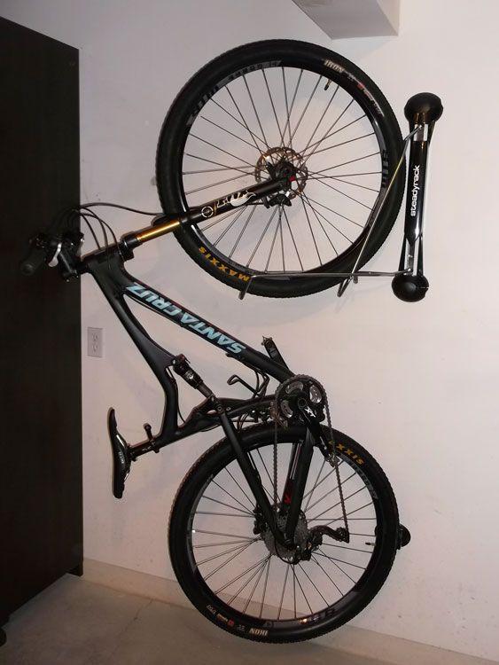 Delightful Steadyrack Vertical Bike Storage System
