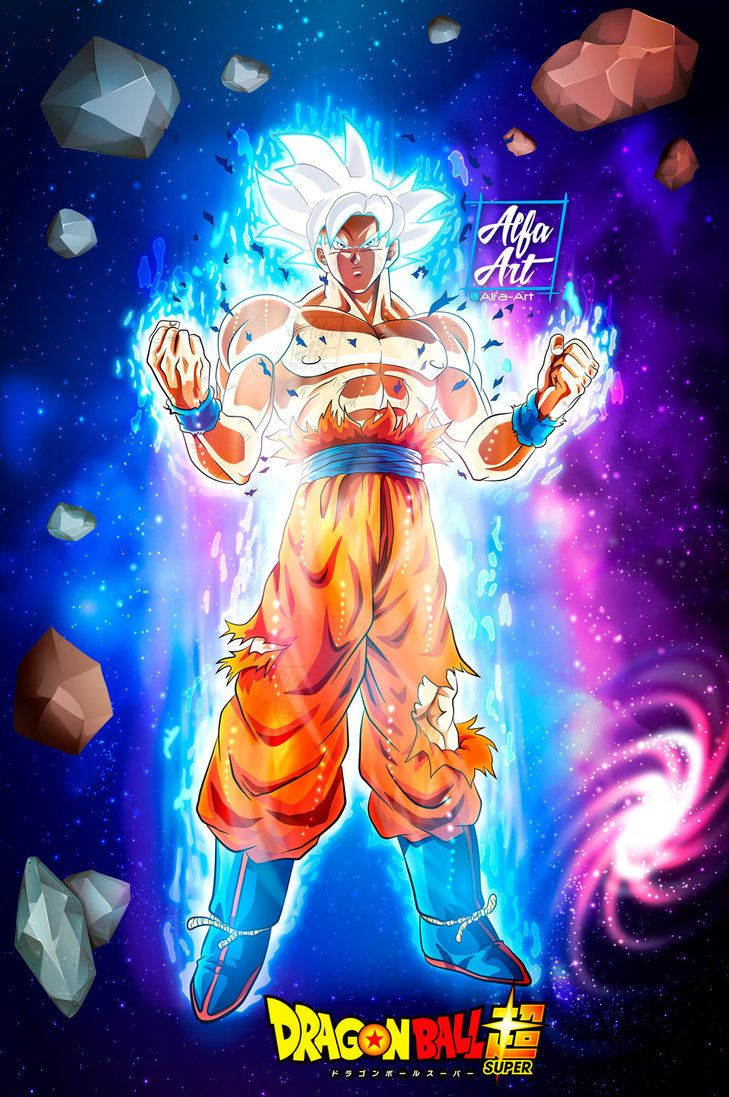 Wallpapers New Goku Migatte No Gokui Al 100 By Alfa Art