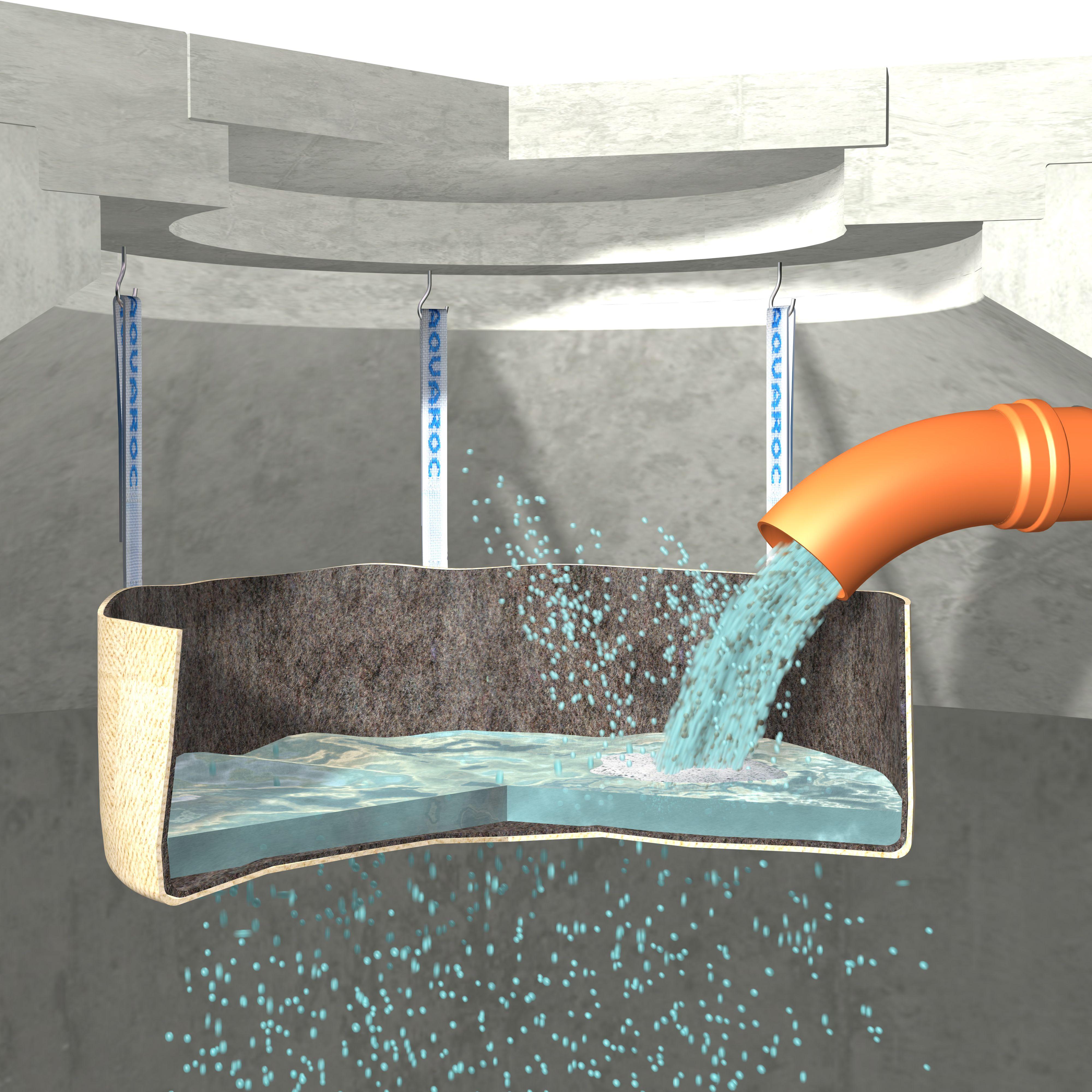 Der High-Tex Textilfilter Für Beton- Wasserzisternen Stellt Eine