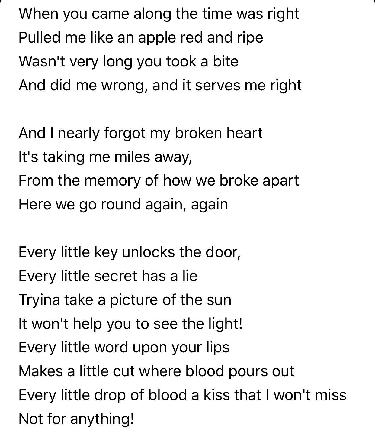 Nearly Forgot My Broken Heart Chris Cornell Lyrics To Live By