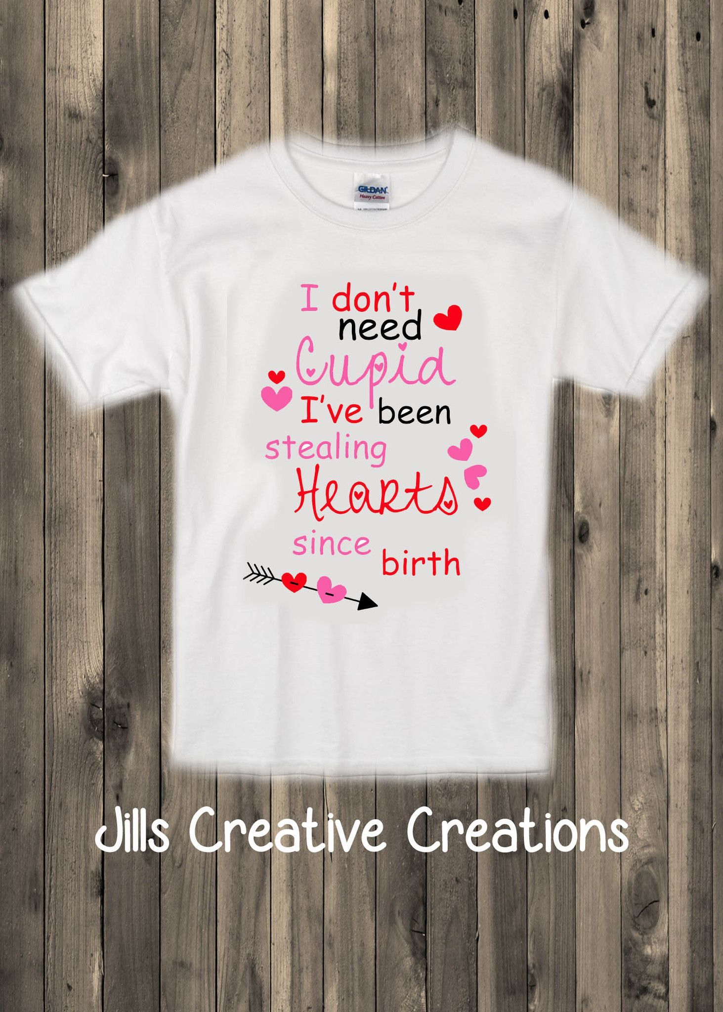 Bump Beyond Designs Who Needs Cupid When Youre This Cute Kids Valentines Day Shirt