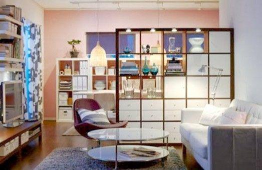 Organización En Tu Salón Estantería De Ikea Serie Kallax