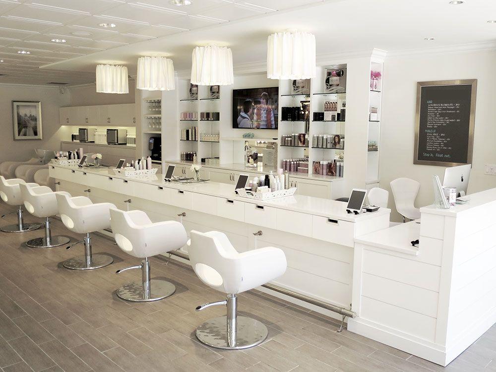 Salon tour cloud 10 blow dry bar salon in boca raton - Interior design services boca raton ...