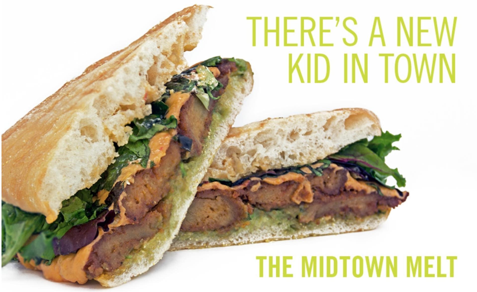 Blossom du Jour sandwiches & milkshakes (vegan Jukebox