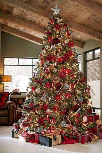 Benieuwd Naar De Kerstboom Trends Van 2017 Lees Het Artikel Op De Woonblog Kerstboom Versieringen Mooie Kerstbomen Kerstboom
