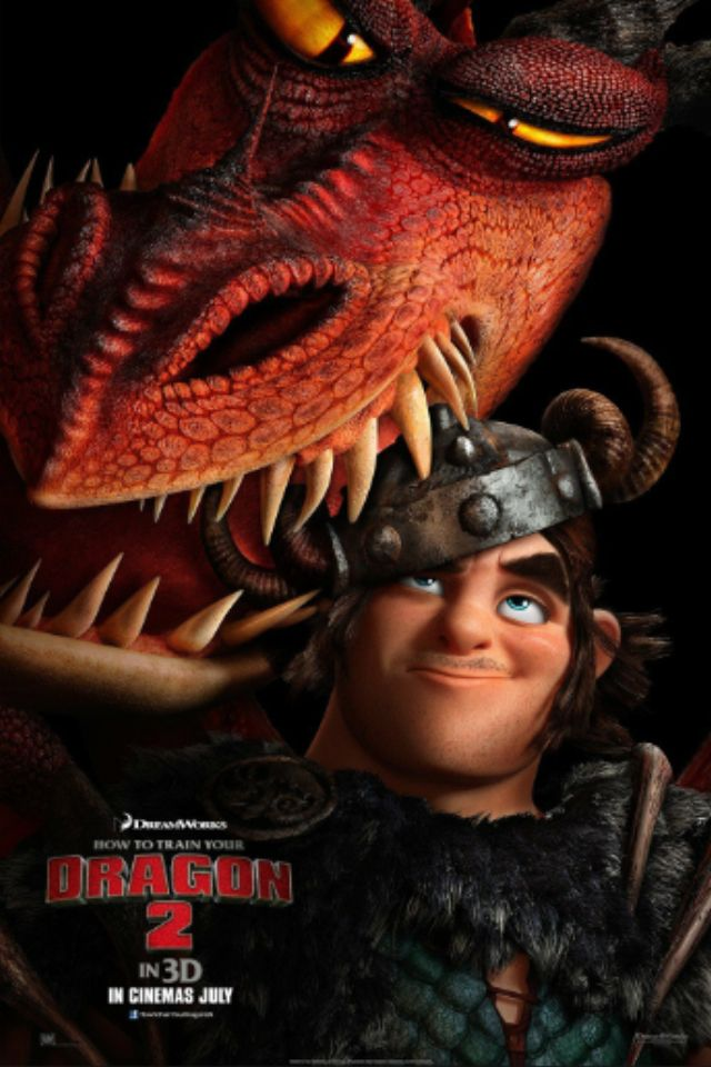 How to train your Dragon 2: Hook-fang and Stoutlout.
