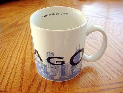 Starbucks 2002 Skyline Series Barigta Chicago the Windy City Series One Cup Mug