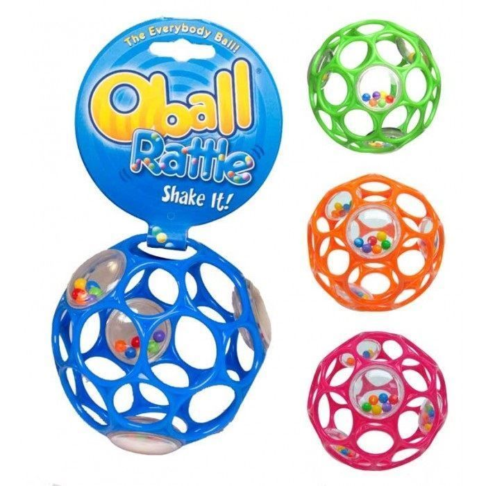 4'' Oball Rattle Fine Motor Skills Easy Catch Special ...