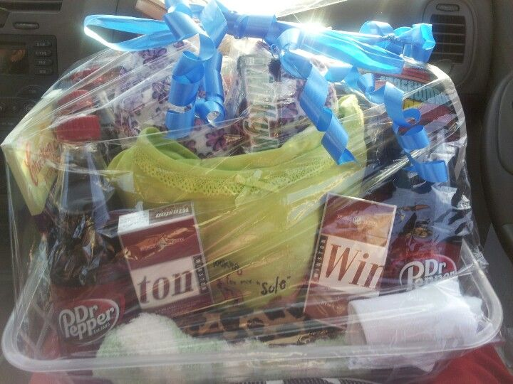 My Grandmas Special Personal 70th Birthday Gift Basket With All Her Favorites Winston 100s Dr Pepper Pajamas Cross Word Puzzles Milky Way Cute Socks