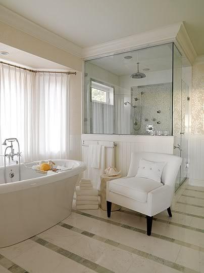 baño clásico con cabina de ducha y bañera For the Home Pinterest - Baos Modernos Con Ducha Y Baera