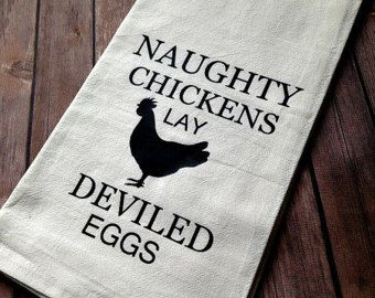 Funny Kitchen Towel Funny Chicken Decor Chicken Lover Naughty Enchanting Kitchen Towel Review